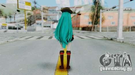 Hatsune Miku (Pirete) для GTA San Andreas третий скриншот