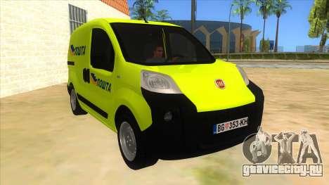 Fiat Fiorino для GTA San Andreas вид сзади