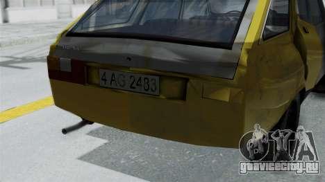 Dacia 1325 Liberta Rusty для GTA San Andreas вид справа