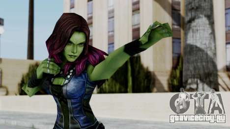Marvel Future Fight - Gamora для GTA San Andreas