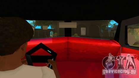 GTA LCS Thunder-Rodd для GTA San Andreas вид изнутри