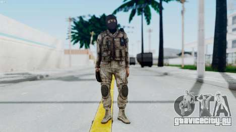 Crysis 2 US Soldier 8 Bodygroup A для GTA San Andreas второй скриншот
