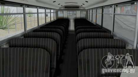 Bus from Life is Strange для GTA San Andreas вид справа