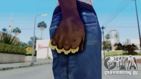 The King Knuckle Dusters from Ill GG Part 2 для GTA San Andreas третий скриншот