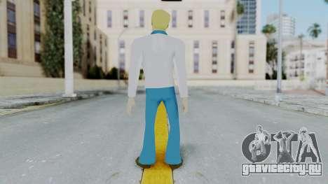 Scooby Doo Fred для GTA San Andreas третий скриншот