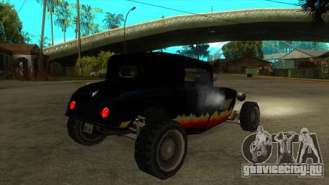 Diablos Hotknife для GTA San Andreas вид справа