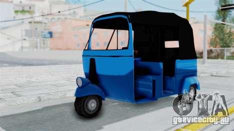 Sri Lanka Three Wheeler (Rickshow) для GTA San Andreas