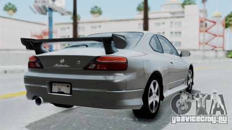 Nissan Silvia S15 Spec-R 2000 для GTA San Andreas вид слева