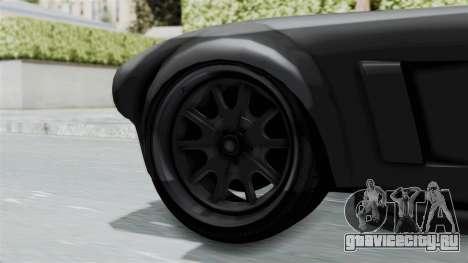 GTA 5 Mamba для GTA San Andreas вид сзади слева