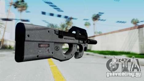 P90 Grey для GTA San Andreas второй скриншот