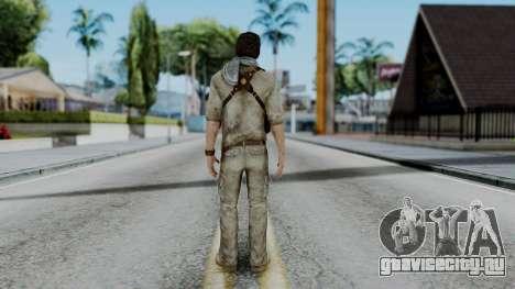 Uncharted 3 - Nathan Drake Desert Outfit для GTA San Andreas третий скриншот