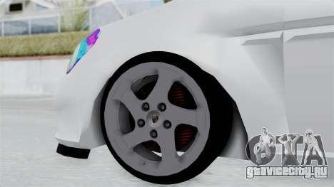 Hyundai Accent Essential Garage для GTA San Andreas вид сзади слева
