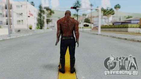 Marvel Heroes - Drax для GTA San Andreas третий скриншот