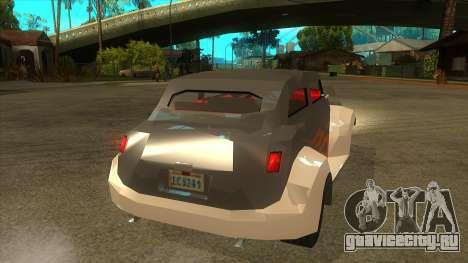 GTA LCS Thunder-Rodd для GTA San Andreas вид справа
