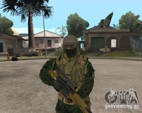 Русская армия Skin Pack для GTA San Andreas четвёртый скриншот