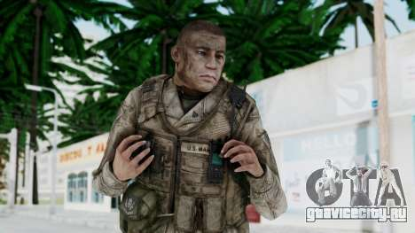 Crysis 2 US Soldier 6 Bodygroup A для GTA San Andreas