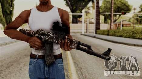 AK-47 F.C. Camo для GTA San Andreas третий скриншот