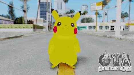 Dancing Pokemon Band - Pikachu для GTA San Andreas второй скриншот