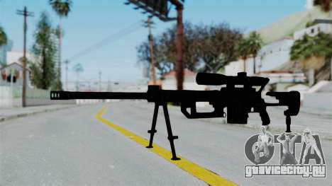 M2000 CheyTac Intervention для GTA San Andreas второй скриншот
