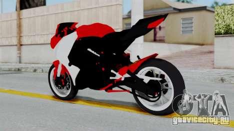 Yamaha YZF-R25 YoungMachine Concept для GTA San Andreas вид слева
