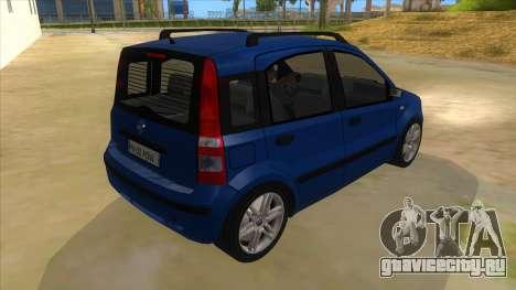 Fiat Panda V3 для GTA San Andreas вид справа