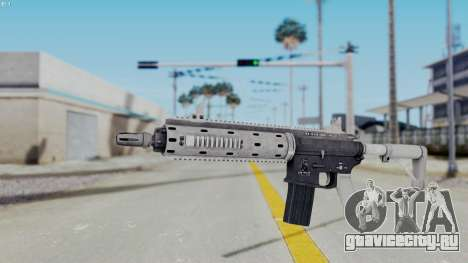 GTA 5 Carbine Rifle для GTA San Andreas второй скриншот