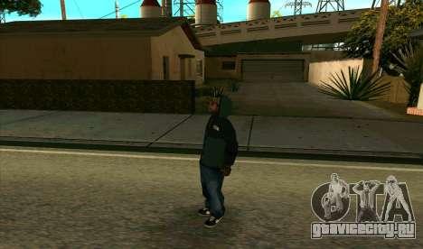 BALLAS1 для GTA San Andreas второй скриншот