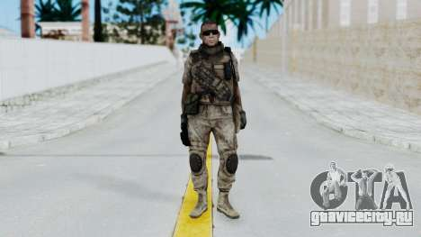 Crysis 2 US Soldier 2 Bodygroup B для GTA San Andreas второй скриншот