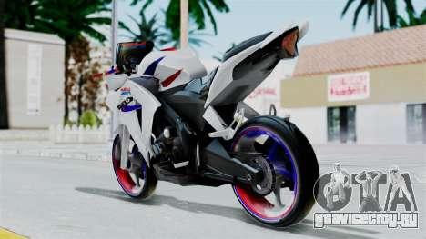 Honda CB150R для GTA San Andreas вид слева