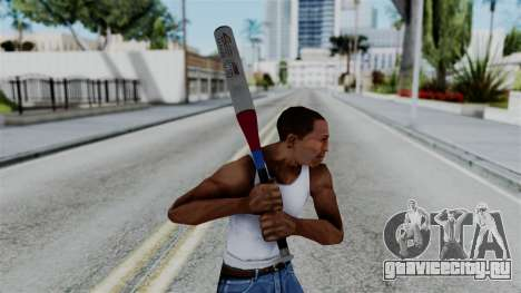 No More Room in Hell - Baseball Bat для GTA San Andreas третий скриншот