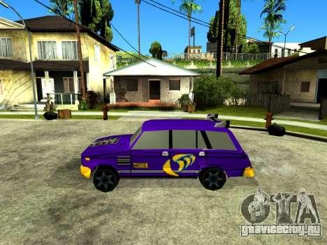 VAZ 2104 WRC для GTA San Andreas вид слева