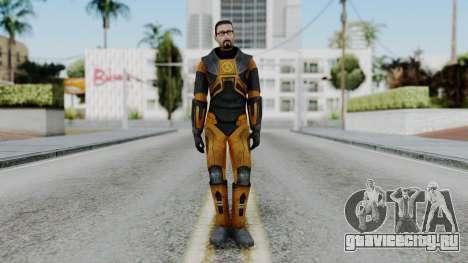Gordon Freeman Skin для GTA San Andreas второй скриншот