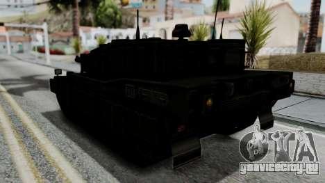 Point Blank Black Panther Woodland IVF для GTA San Andreas вид справа