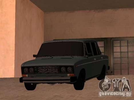 Ваз 2106 BPAN для GTA San Andreas вид справа
