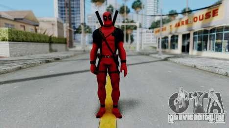 Marvel Heroes - Deadpool для GTA San Andreas второй скриншот