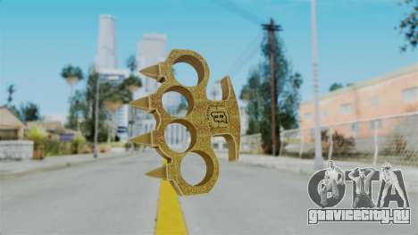 Knuckle Dusters from Ill Gotten Gains Part 2 для GTA San Andreas
