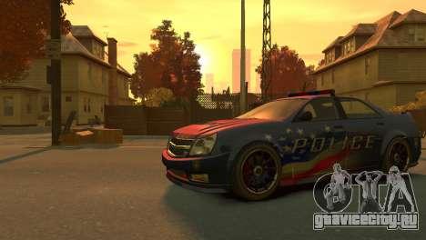 Albany Police Stinger для GTA 4 вид слева