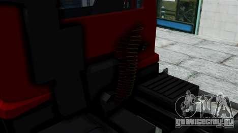 FAP Kamion Stock для GTA San Andreas вид сзади слева