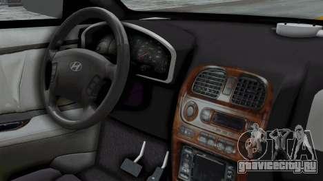 Hyundai Accent Essential Garage для GTA San Andreas вид справа