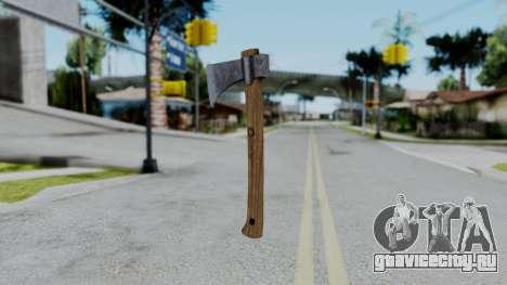 No More Room in Hell - Hatchet для GTA San Andreas второй скриншот