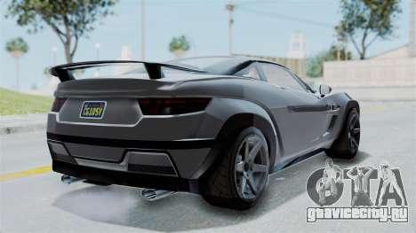 GTA 5 Coil Brawler Coupe IVF для GTA San Andreas вид слева