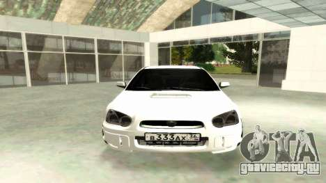 Subaru Impreza WRX STi Civil для GTA San Andreas вид справа