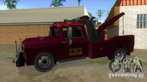 Chevrolet Towtruck 1954 для GTA San Andreas вид слева