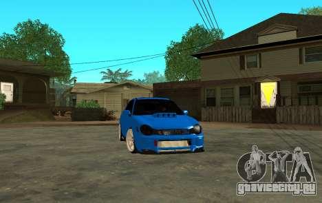 Subaru Impreza WRX STi Wagon 2003 для GTA San Andreas