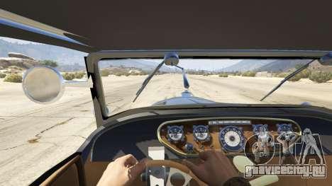 Ford T 1927 Roadster для GTA 5 вид сзади