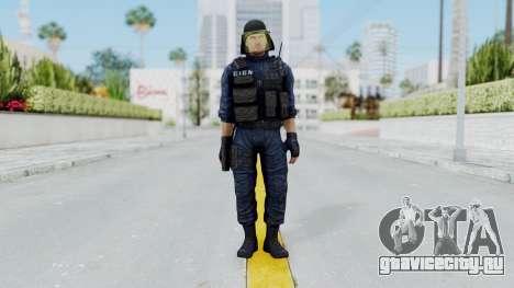 GIGN 1 No Mask from CSO2 для GTA San Andreas второй скриншот