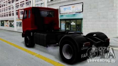FAP Kamion Stock для GTA San Andreas вид слева