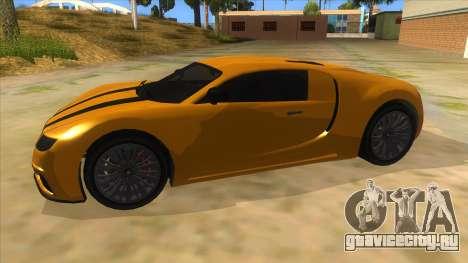GTA 5 Truffade Adder для GTA San Andreas вид слева