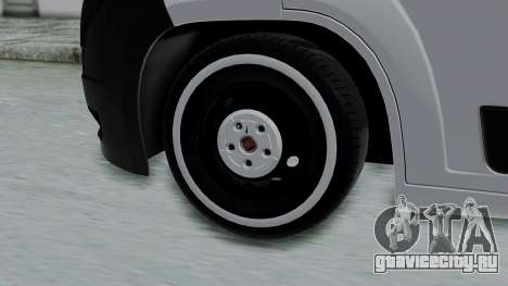 Fiat Ducato для GTA San Andreas вид сзади слева