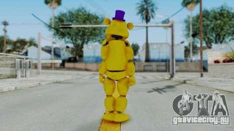 FNAF 4 Fredbear для GTA San Andreas третий скриншот